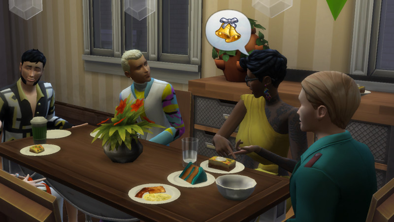 Sims 4 Dinner Party  Doing Thanksgiving In The Sims 4 Is Like Herding Cats