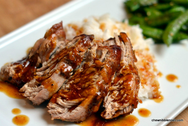 Slow Cook Pork Loin  Slow Cooker Pork Tenderloin with Orange Hoisin Glaze