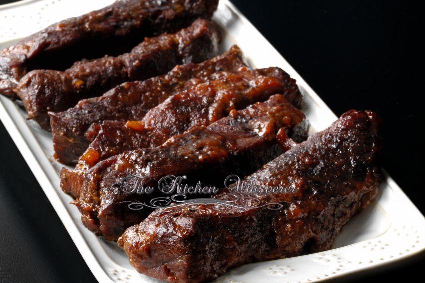 Slow Cooker Boneless Beef Ribs  Slow Baked Boneless Beef Short Ribs