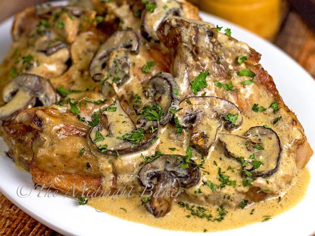 Slow Cooker Boneless Pork Chops  Slow Cooker Pork Chop Stroganoff The Midnight Baker