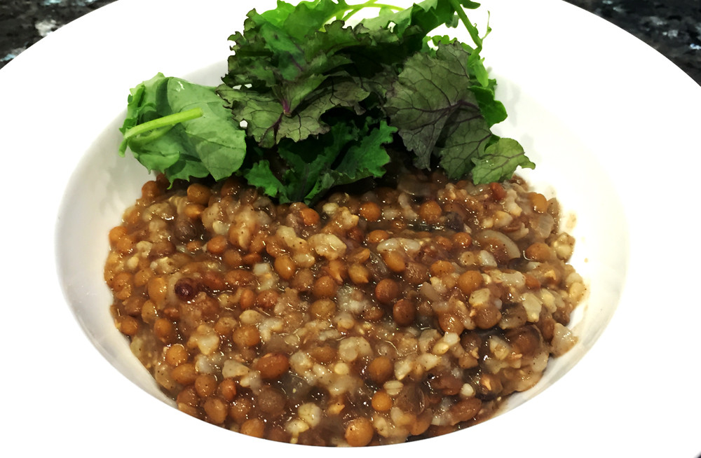 Slow Cooker Brown Rice  Slow Cooked Egyptian Lentils and Brown Rice
