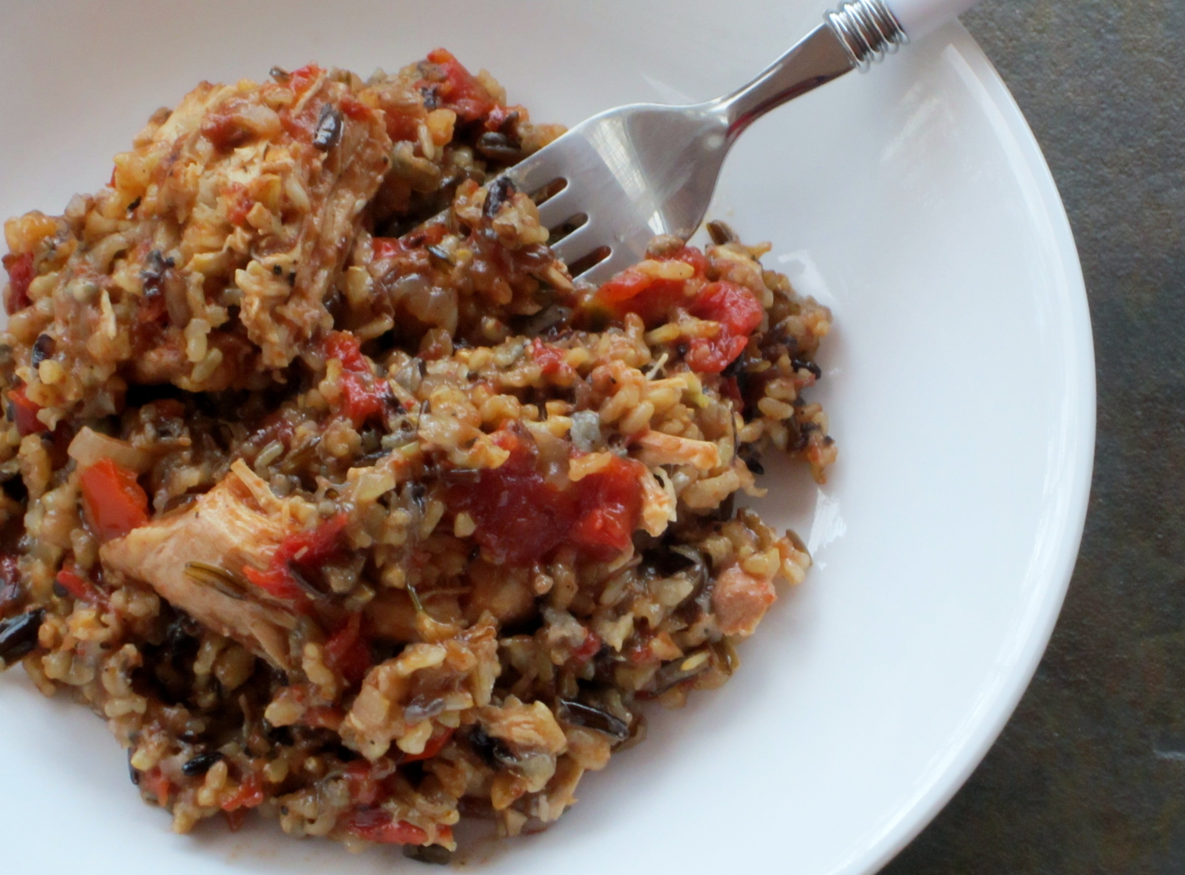 Slow Cooker Brown Rice  Slow Cooker Chicken & Rice