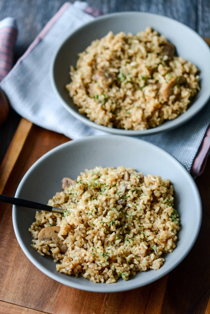 Slow Cooker Brown Rice  Slow Cooker Rustic Herbed Brown Rice Slow Cooker Gourmet