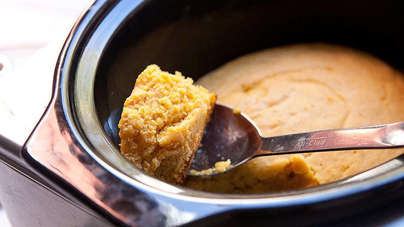 Slow Cooker Cornbread  Homemade Slow Cooker Cornbread recipe from Betty Crocker
