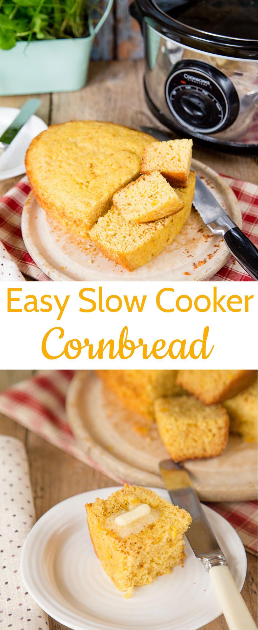 Slow Cooker Cornbread  Slow Cooker Cornbread