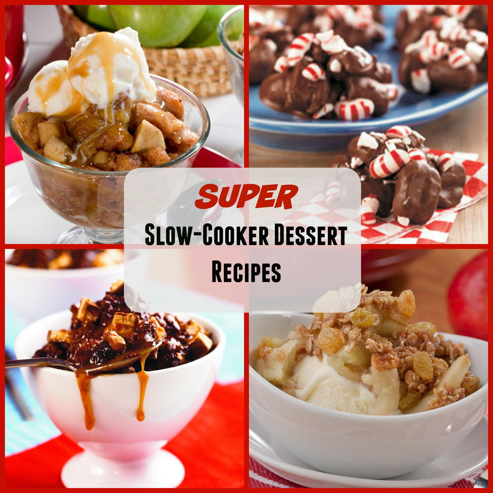 Slow Cooker Desserts Using Cake Mixes  22 Super Slow Cooker Dessert Recipes