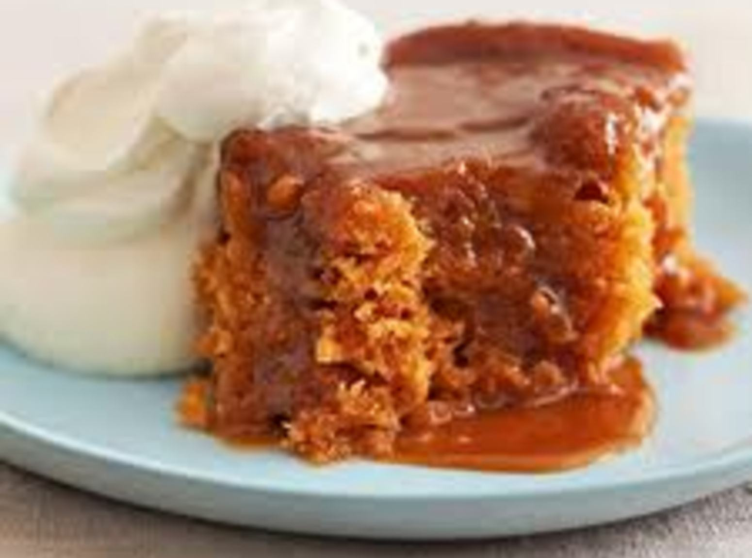 Slow Cooker Desserts Using Cake Mixes  Butterscotch Pudding Cake Recipe