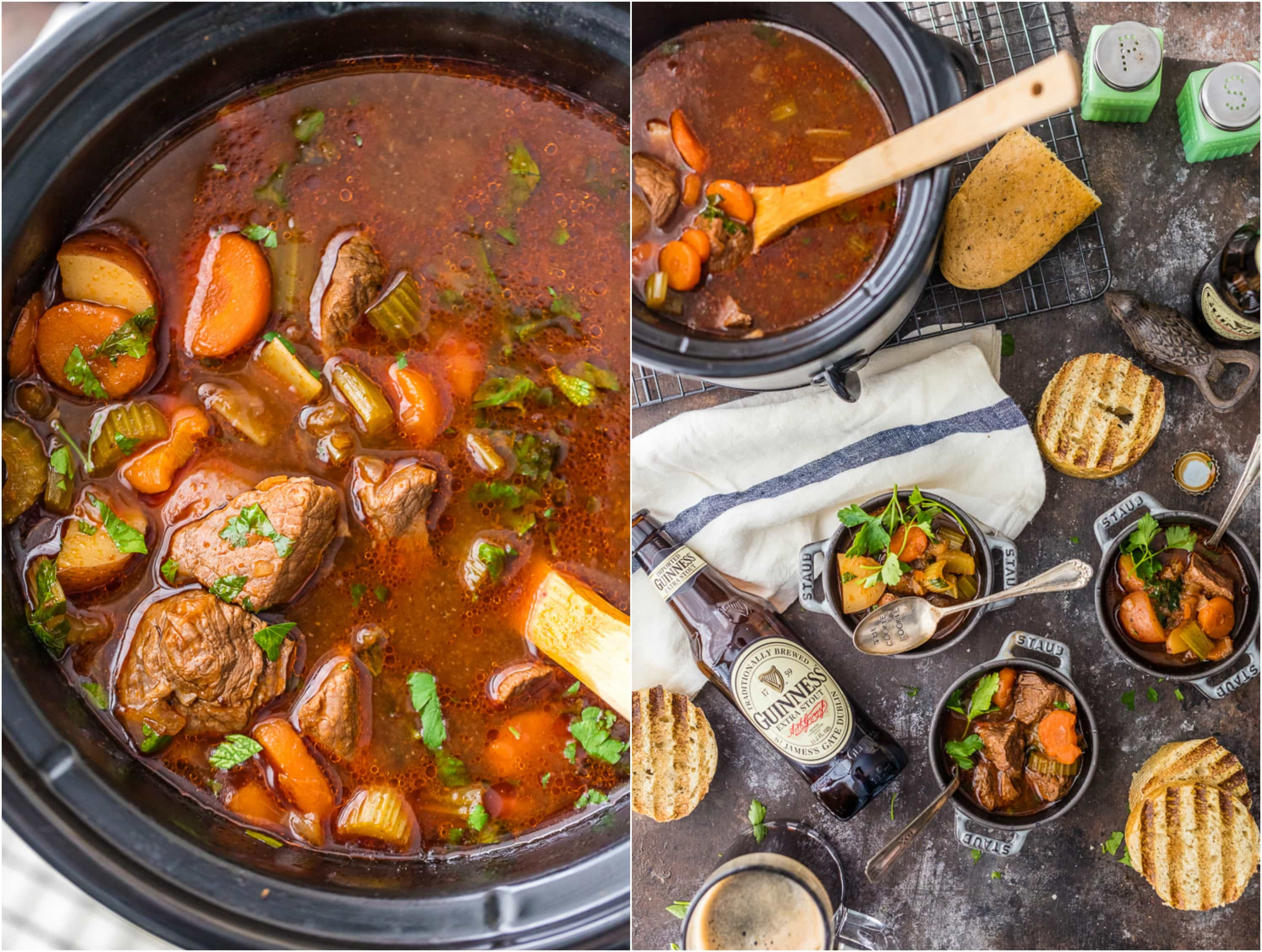 Slow Cooker Lamb Stew  beef stew recipe slow cooker beer