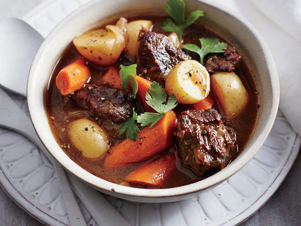 Slow Cooker Lamb Stew  Classic Slow Cooker Beef Stew Recipe