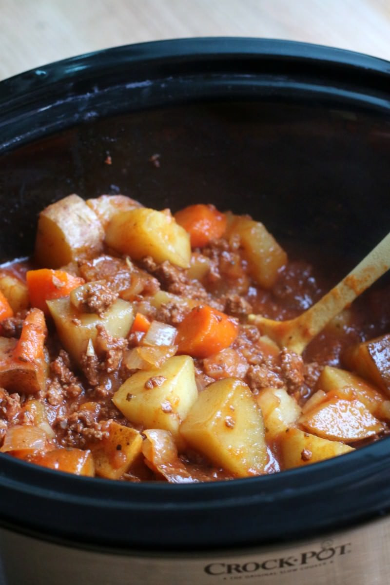 Slow Cooker Lamb Stew  Slow Cooker Poor Man s Stew The Magical Slow Cooker