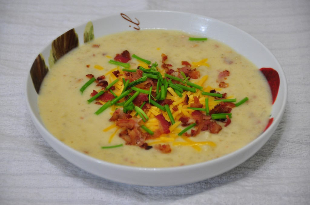 Slow Cooker Loaded Potato Soup  Crock Pot Loaded Baked Potato Soup