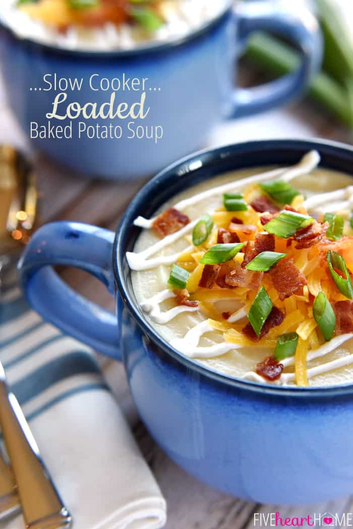 Slow Cooker Loaded Potato Soup  The Better Baker Slow Cooker Loaded Potato Soup Guest