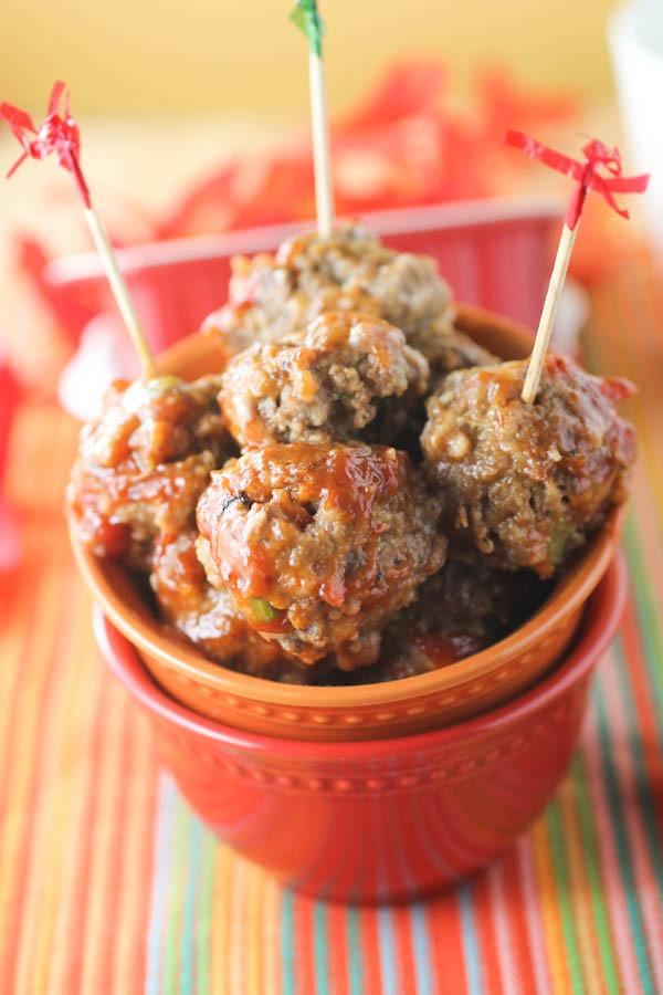 Slow Cooker Meatball Appetizer  Slow Cooker Italian Meatballs