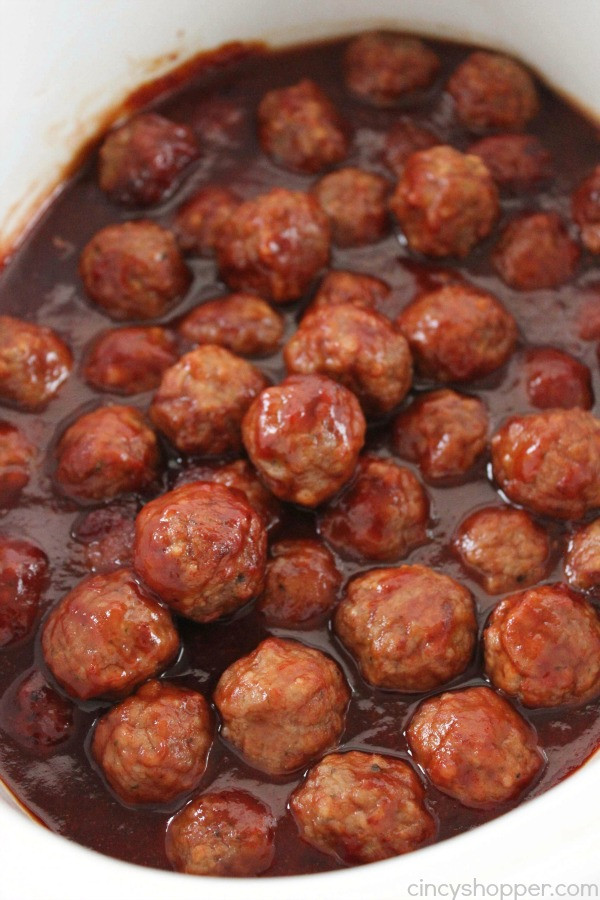 Slow Cooker Meatball Appetizer  Slow Cooker Party Meatballs CincyShopper