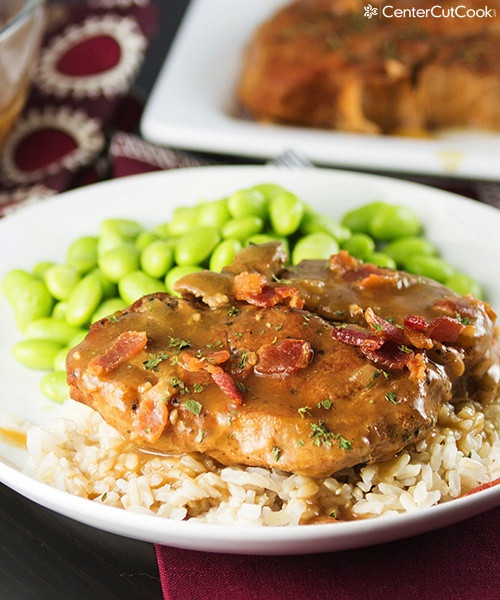Slow Cooker Pork Chops And Rice  Slow Cooker Smothered Pork Chops Recipe
