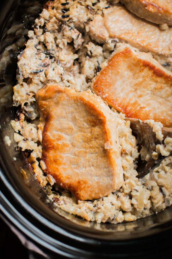 Slow Cooker Pork Chops And Rice  Slow Cooker Minnesota Pork Chop Casserole The Magical