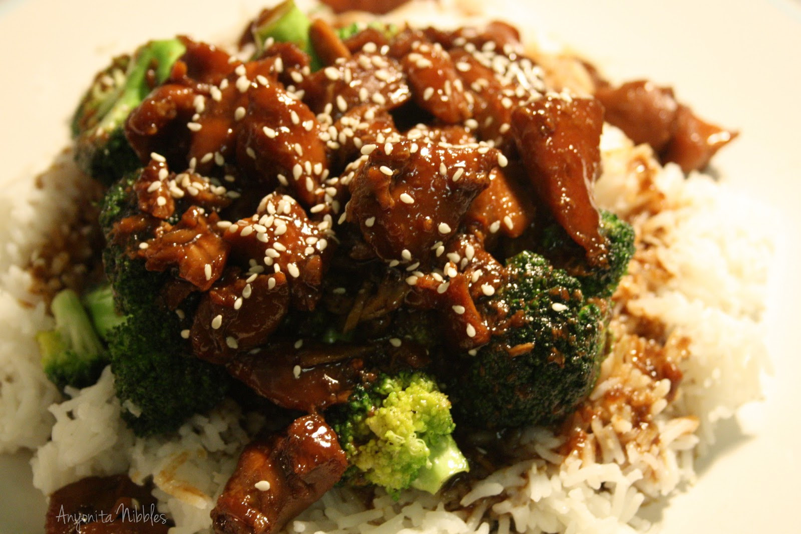 Slow Cooker Teriyaki Chicken Thighs  Anyonita Nibbles