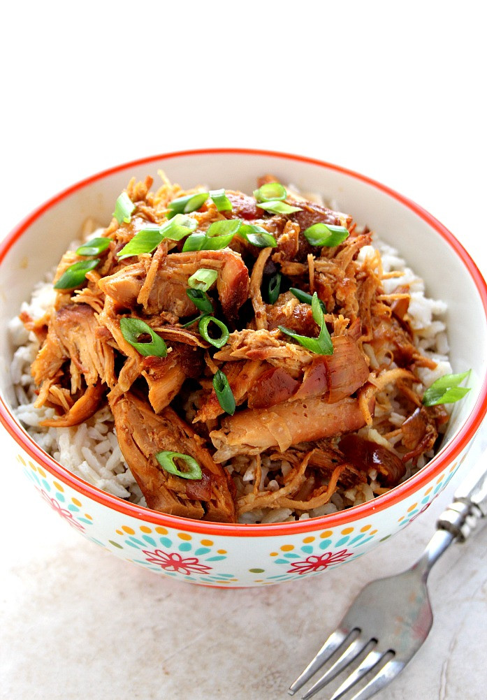Slow Cooker Teriyaki Chicken Thighs  Slow Cooker Teriyaki Chicken Recipe Crunchy Creamy Sweet