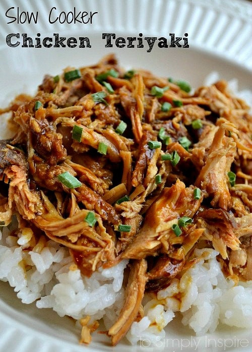 Slow Cooker Teriyaki Chicken Thighs  slow cooker teriyaki chicken allrecipes