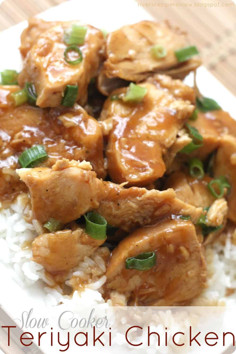 Slow Cooker Teriyaki Chicken Thighs  Slow Cooker Teriyaki Chicken