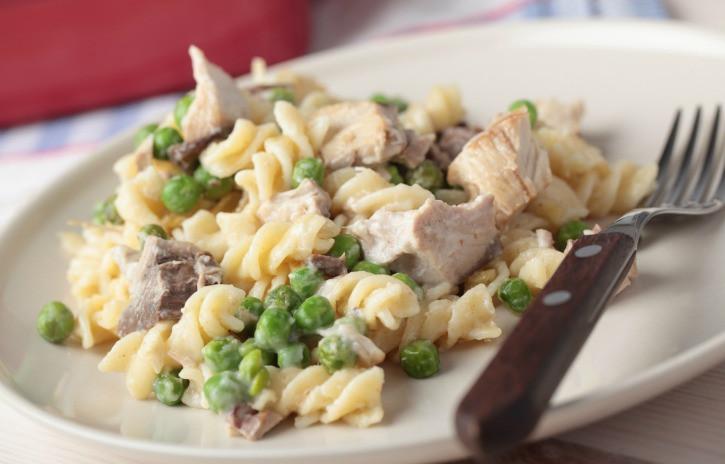 Slow Cooker Tuna Casserole  Crock Pot Tuna Noodle Casserole Get Crocked