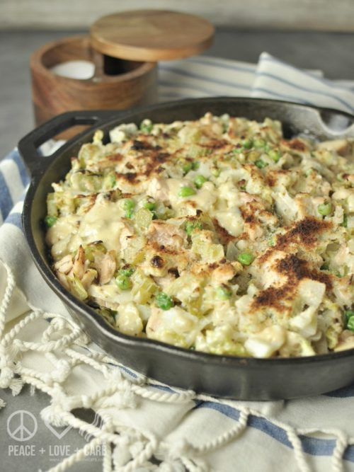 Slow Cooker Tuna Casserole  Make It and For It Low Carb Casserole & Slow Cooker