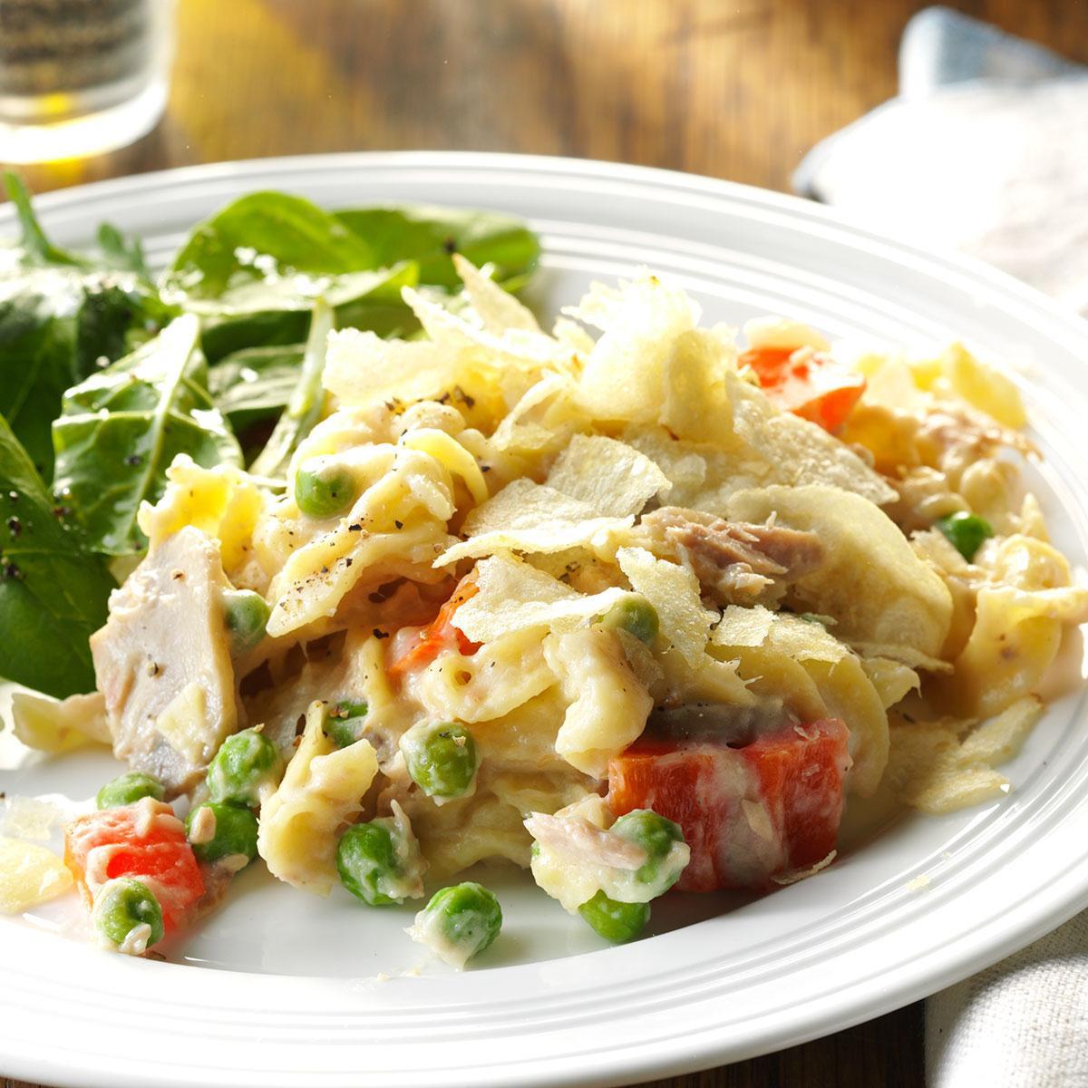 Slow Cooker Tuna Casserole  Slow Cooker Tuna Noodle Casserole Recipe