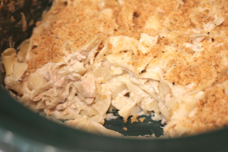 Slow Cooker Tuna Casserole  Crock Pot Tuna Noodle Casserole Repeat Crafter Me