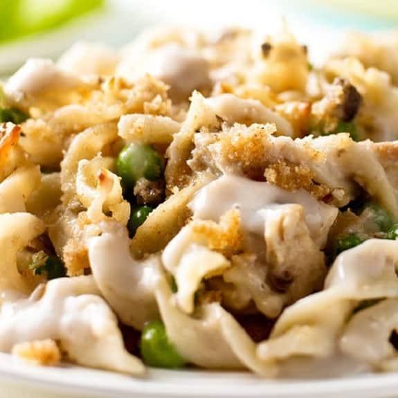 Slow Cooker Tuna Casserole  Slow Cooker Classic Tuna Noodle Casserole Recipe