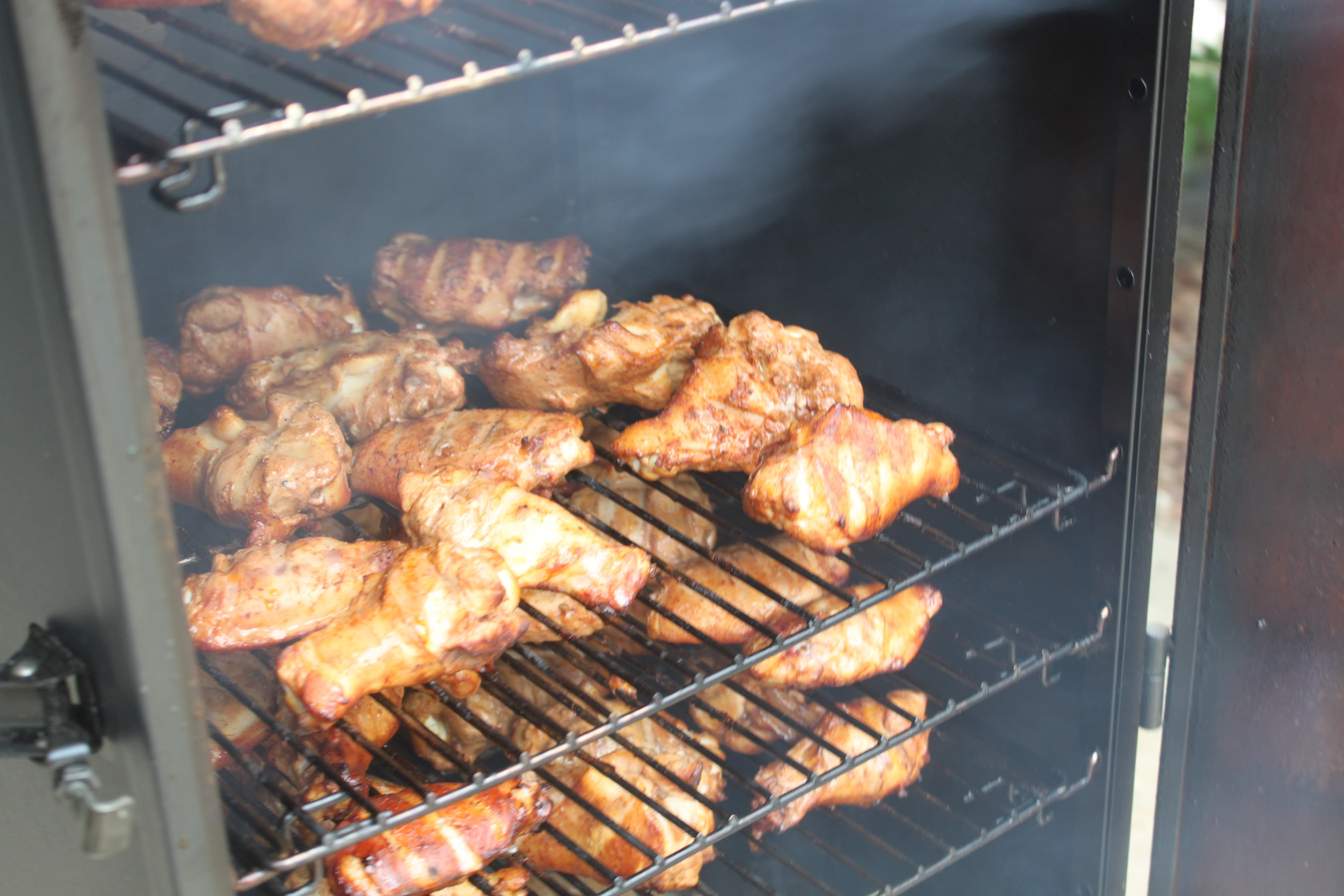 Smoked Chicken Wings Electric Smoker  How to Smoke Chicken Wings Dry Rub Recipe Included Old