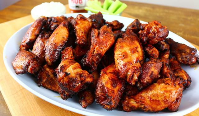 Smoked Chicken Wings Electric Smoker  electric smoker chicken wings recipe