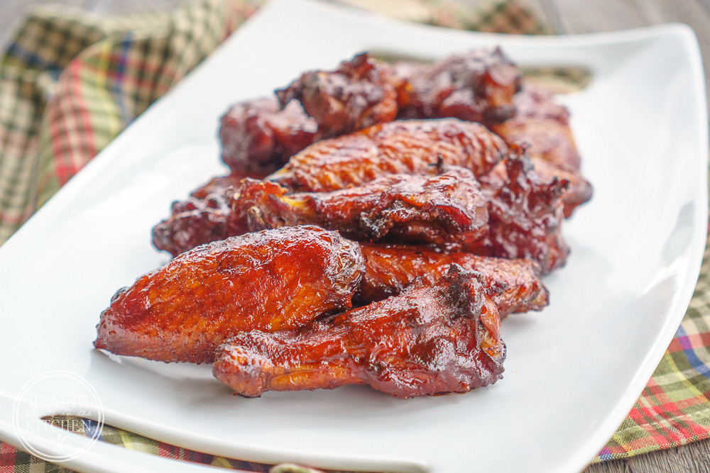 Smoked Chicken Wings Electric Smoker  Smoked BBQ Chicken Wings Health Starts in the Kitchen