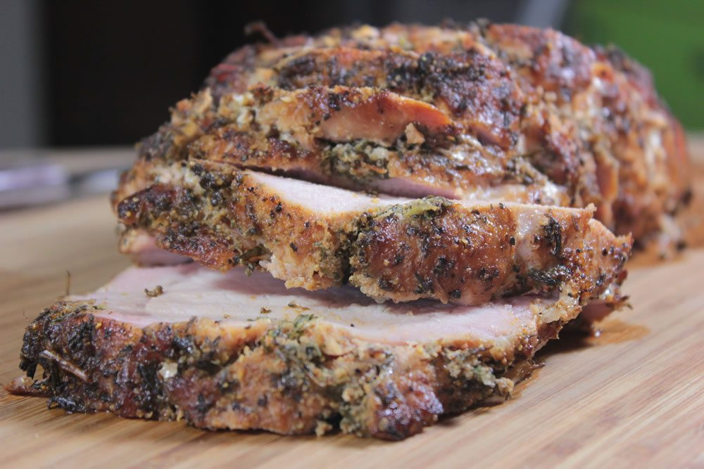 Smoked Pork Loin Rub  Herb Rubbed Smoked Pork Loin Smoking Meat Newsletter