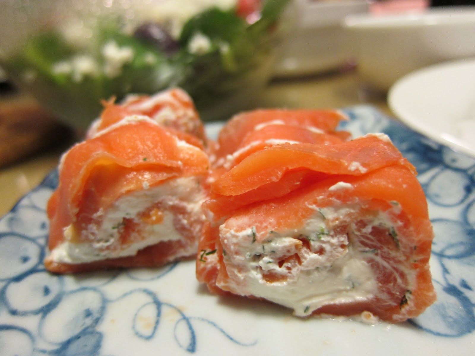 Smoked Salmon Cream Cheese  Dining for Two Smoked Salmon and Cream Cheese Appetizer
