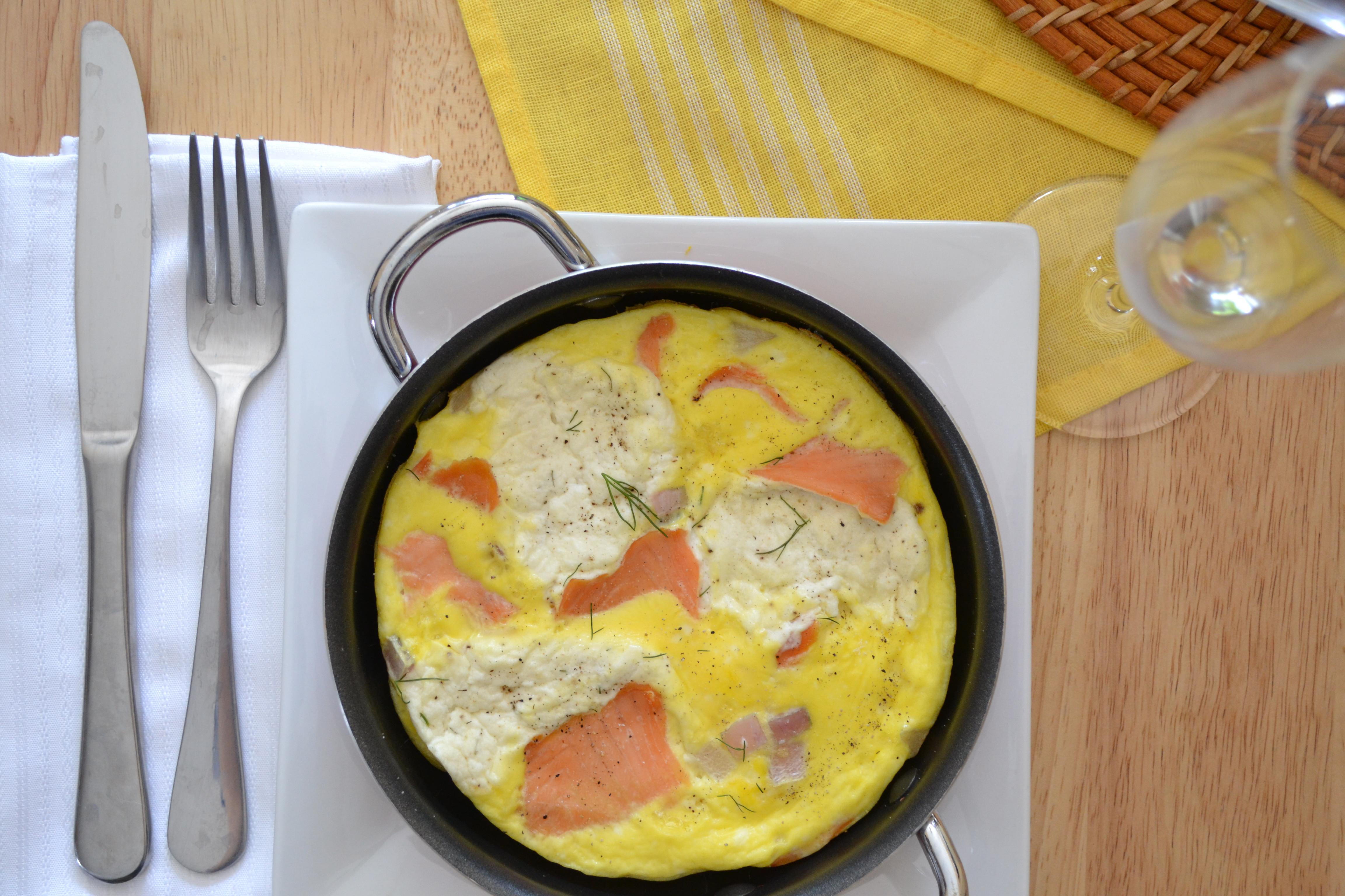 Smoked Salmon Cream Cheese  Mini Smoked Salmon Cream Cheese Frittatas