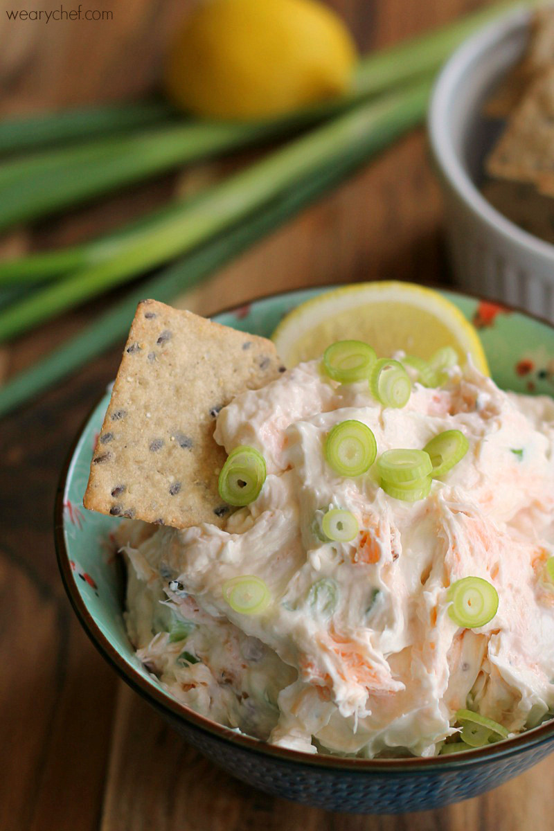 Smoked Salmon Cream Cheese  Smoked Salmon Cream Cheese Dip or Spread The Weary Chef