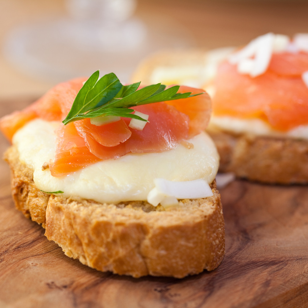 Smoked Salmon Cream Cheese  Object moved