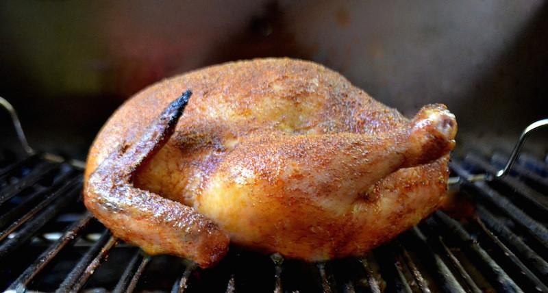 Smoked Whole Chicken  Smoked Whole Chicken