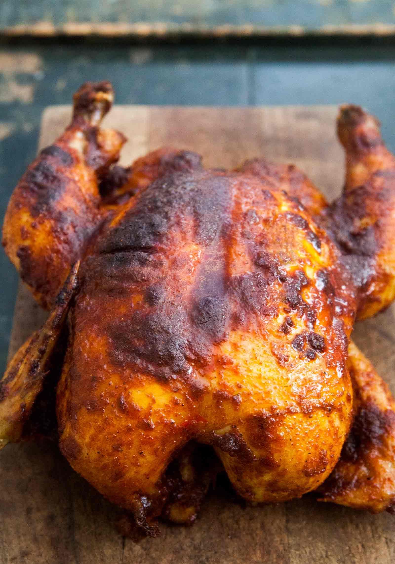Smoked Whole Chicken  Smoked Paprika Roast Chicken Recipe