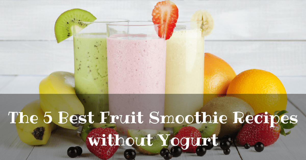 Smoothie Recipes Without Yogurt  Juicing Archives NutrientBowl