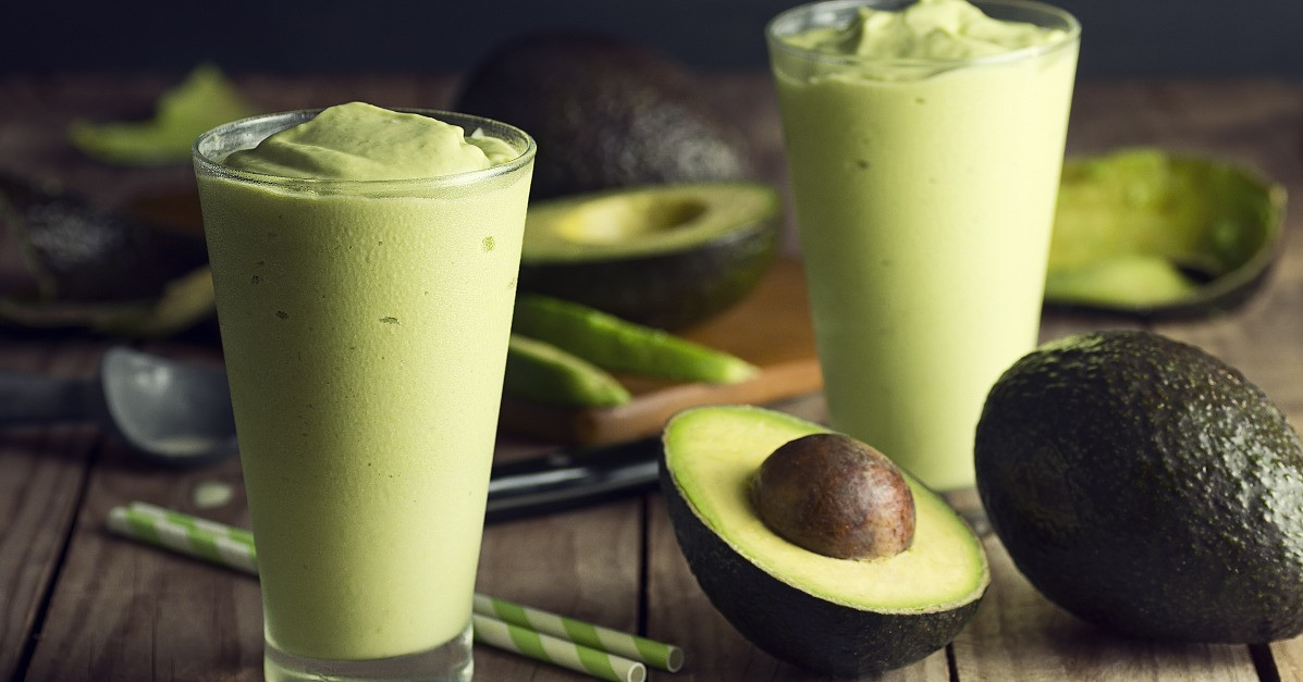 Smoothies With Avocado  Avocado Banana Smoothie Recipe
