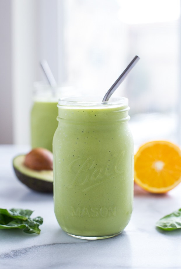 Smoothies With Avocado  Orange Avocado Smoothie Making Thyme for Health
