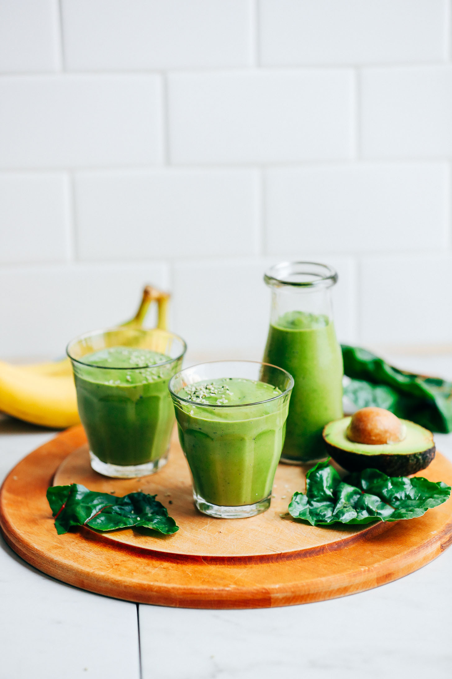 Smoothies With Avocado  Avocado Banana Green Smoothie