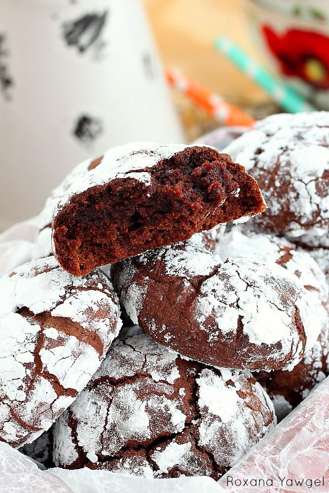 Snowball Cookies Recipe  chocolate snowball cookies