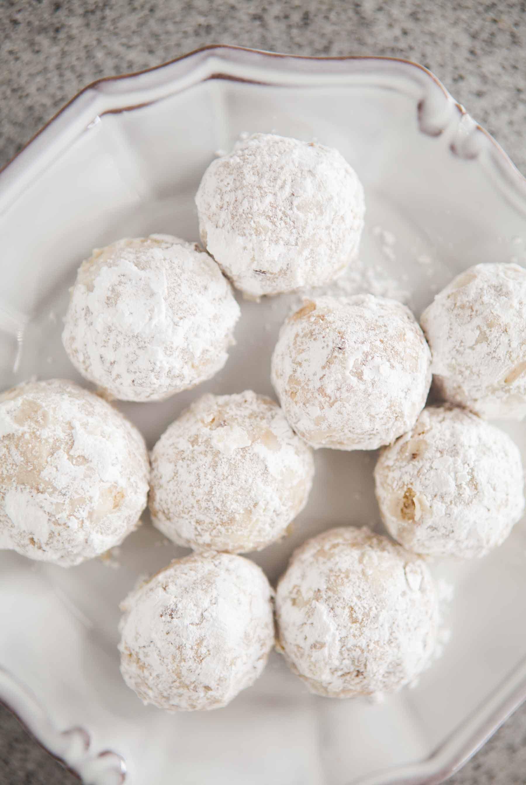 Snowball Cookies Recipe  Walnut Snowball Cookies Recipe