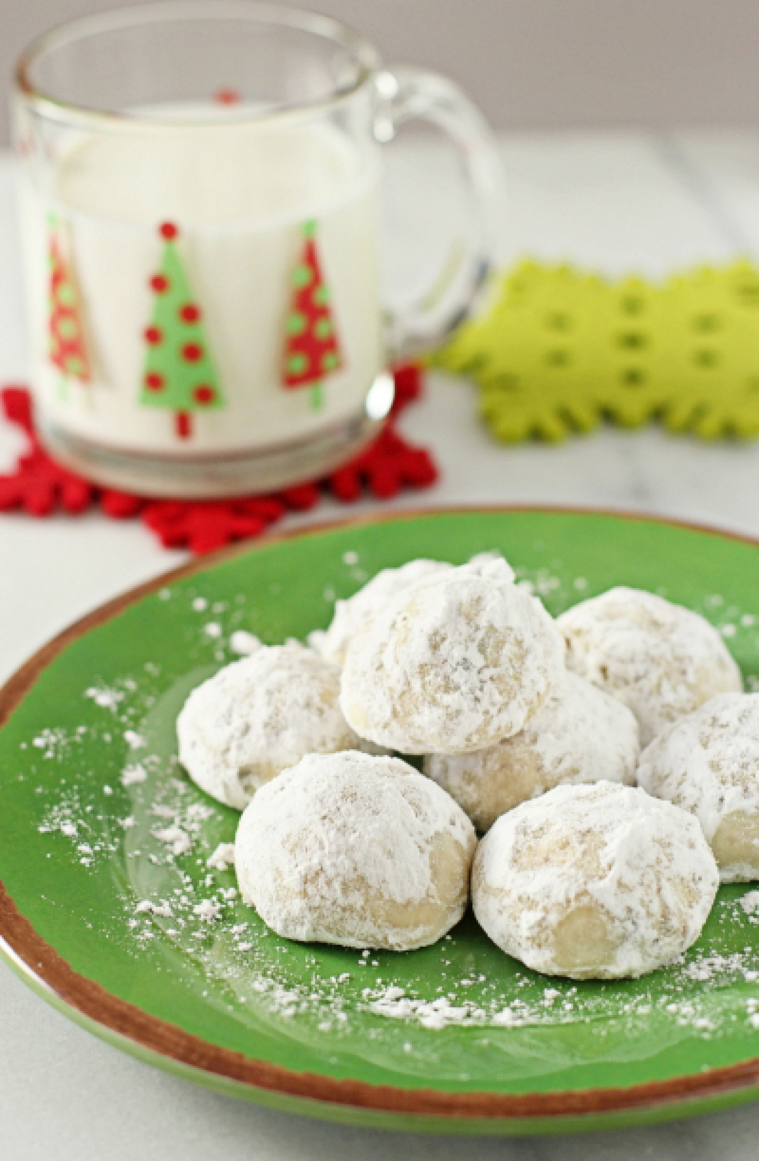 Snowball Cookies Recipe  Snowball Cookies with Mini Chocolate Chips Recipe