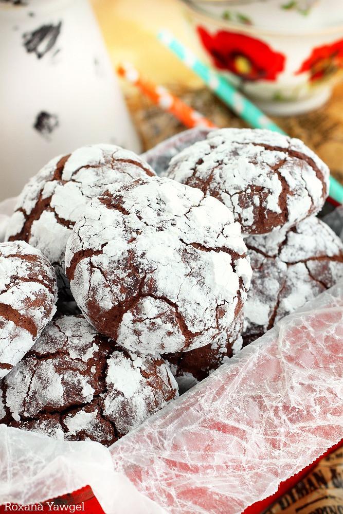 Snowball Cookies Recipe  Chocolate snowball cookies a trEATs affair