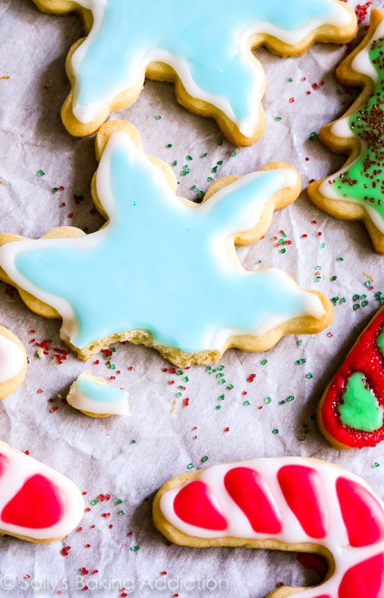 Soft Cut Out Sugar Cookies  Holiday Cut Out Sugar Cookies with Easy Icing Sallys