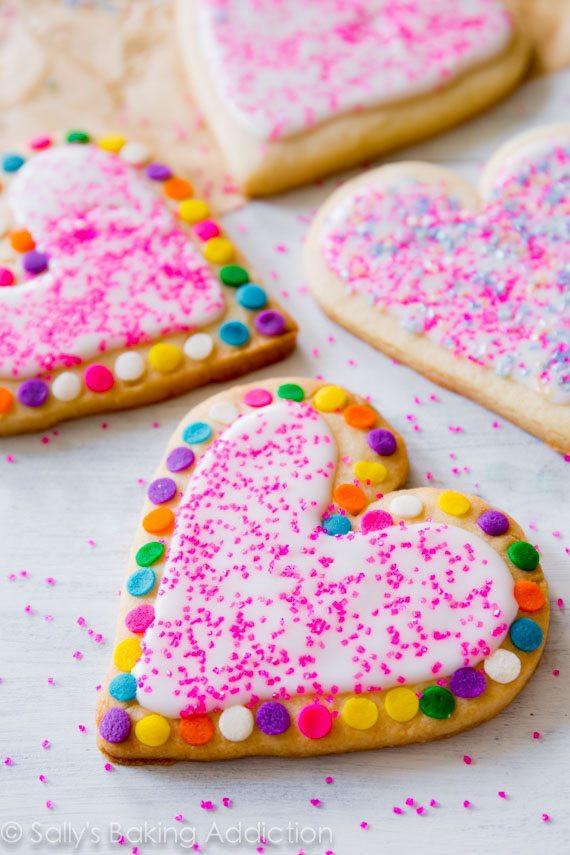 Soft Cut Out Sugar Cookies  Soft Cut Out Sugar Cookies Sallys Baking Addiction