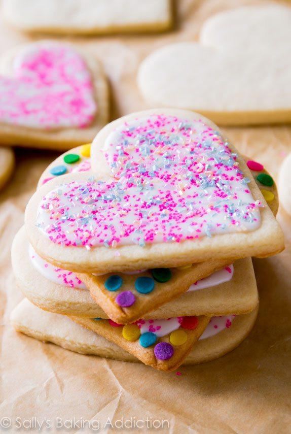 Soft Cut Out Sugar Cookies  2015 Recipe Superlatives Sallys Baking Addiction